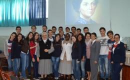 O Colégio Passionista São José teve a honra de receber Ir. Daniela Merlo