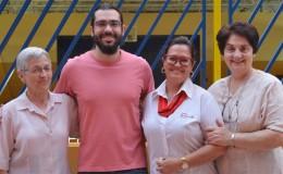 Ex Educando visita o Col�gio!