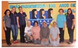 Visita das Irmãs Passionistas