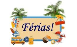Boas férias!